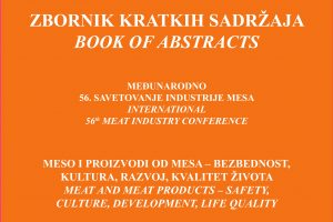 Book of Abstract of International 56th Meat Industry Conference